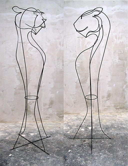 Rundstahl, geschweißt, 2004