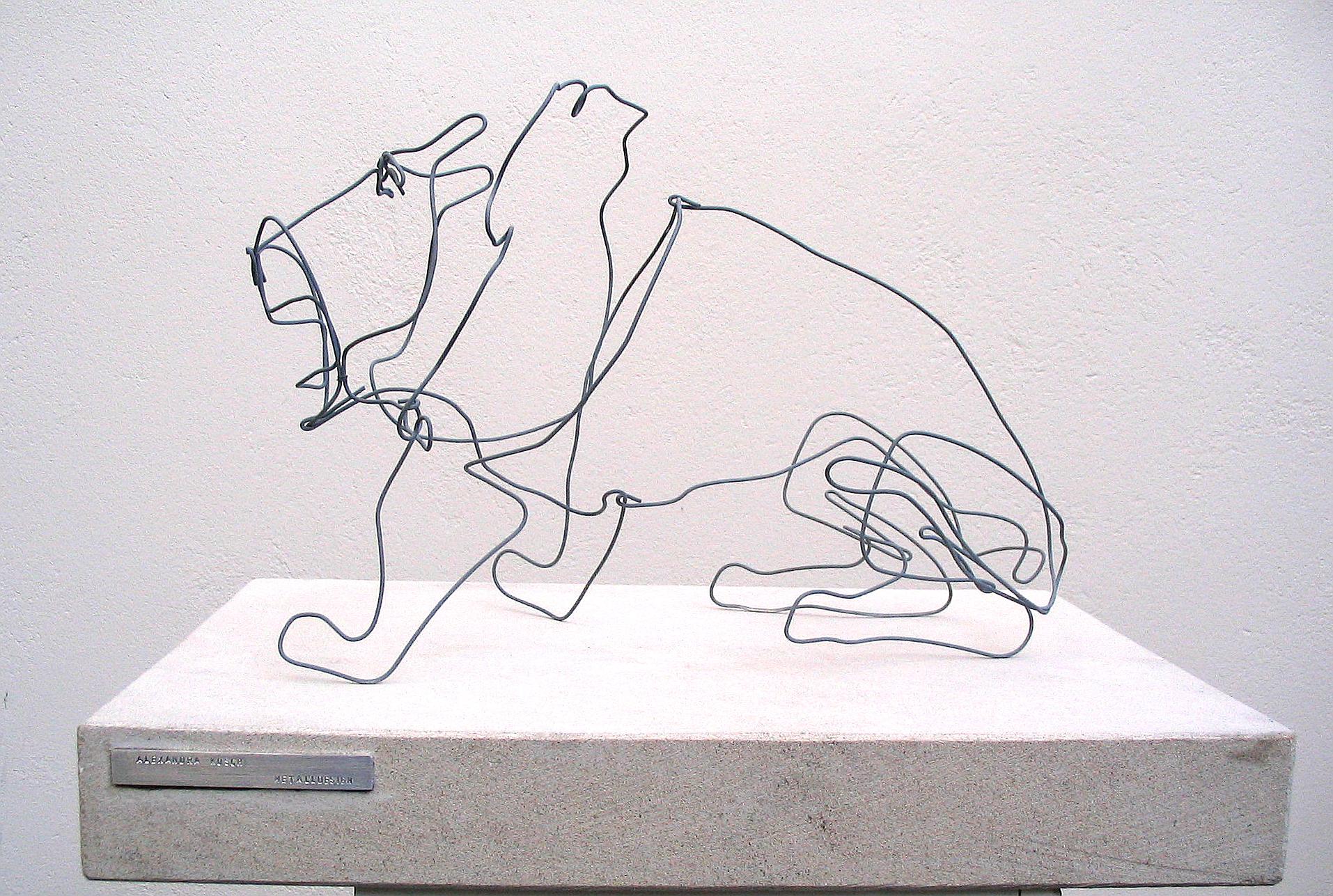 Drahtskulpturen Alexandra Kusch